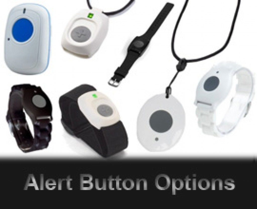 Wearable Medical Alert Button Options Pendent Wristband