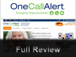 One Call Alert ® Medical Alert Systems